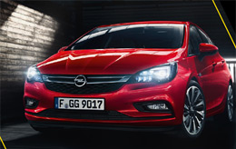 Nouveau Opel Astra - Lille - Dunkerque