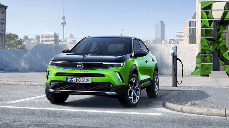 Nouveau Opel Mokka-E électrique