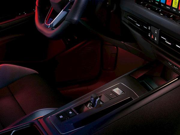 Nouvelle Golf GTI vue intérieure
